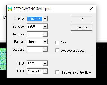 Mixw ajustes PTT