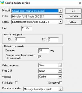MIXW IC7300 Audio