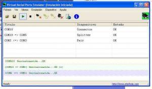 Virtual serial Emulator